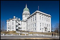 Maine State Capitol. Augusta, Maine, USA