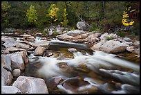 Orin Falls of the Wassatotaquoik Stream. Katahdin Woods and Waters National Monument, Maine, USA ( )