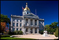New Hampshire state house. Concord, New Hampshire, USA