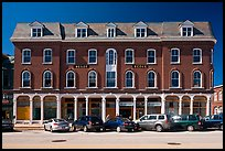 Building on main street. Concord, New Hampshire, USA ( color)