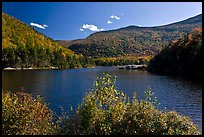 Beaver Pond and Kinsman Notch, White Mountain National Forest. New Hampshire, USA ( color)