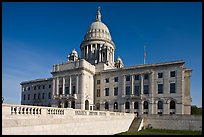 North Facade of Rhode	Island capitol. Providence, Rhode Island, USA