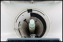 Intercontinental nuclear missile silo. Minuteman Missile National Historical Site, South Dakota, USA ( color)