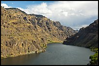 Hells Canyon Reservoir. Hells Canyon National Recreation Area, Idaho and Oregon, USA ( color)