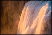 Detail of Shoshone Falls at sunset. Idaho, USA ( color)