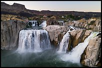 Shoshone Falls site. Idaho, USA ( color)