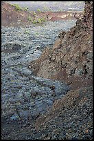 Mouth of North Crater. Craters of the Moon National Monument and Preserve, Idaho, USA ( )