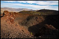 Northmost of Big Craters. Craters of the Moon National Monument and Preserve, Idaho, USA ( color)