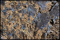 Close-up of Blue Dragon lava flow. Craters of the Moon National Monument and Preserve, Idaho, USA ( )