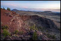 Echo Crater. Craters of the Moon National Monument and Preserve, Idaho, USA ( )