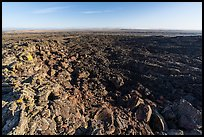Pilar Butte shield volcano with gigantic lava flow. Craters of the Moon National Monument and Preserve, Idaho, USA ( )