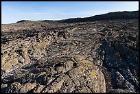 Wapi Flow Lava cascading from Pilar Butte. Craters of the Moon National Monument and Preserve, Idaho, USA ( )