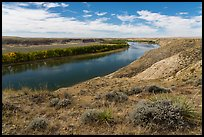 Little Sandy Scenic and Access Easement. Upper Missouri River Breaks National Monument, Montana, USA ( color)