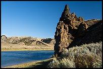 Citadel Rock. Upper Missouri River Breaks National Monument, Montana, USA ( )