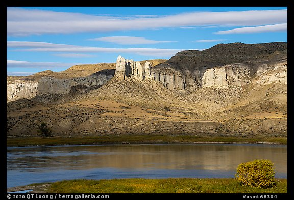 Seven Sisters. Upper Missouri River Breaks National Monument, Montana, USA (color)