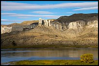 Seven Sisters. Upper Missouri River Breaks National Monument, Montana, USA ( color)