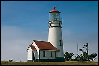 Cape Blanco Lighthouse. Oregon, USA ( color)