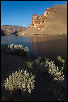 Owyhee Reservoir, Leslie Gulch. Oregon, USA ( color)