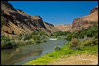 Owyhee River canyon. Oregon, USA ( color)