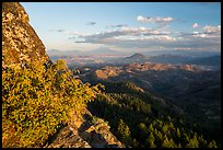 Mt Shasta from Pilot Rock ridge. Cascade Siskiyou National Monument, Oregon, USA ( )