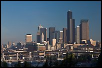 Downtown skyline. Seattle, Washington ( color)