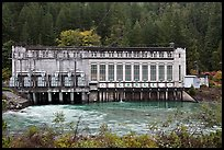 Gorge Powerhouse, Newhalem. Washington ( color)