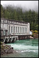 Hydroelectric power plant, Newhalem. Washington ( color)