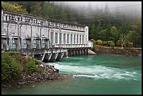 Hydroelectric Powerhouse, Newhalem. Washington ( color)