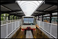 Monorail at station. Seattle, Washington ( color)