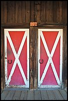 Doors, Winthrop. Washington ( color)