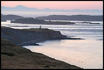 Cattle Point and Lighthouse at dawn, San Juan Island. Washington ( color)