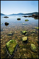 East Sound from Indian Island shore, San Juan Islands National Monument, Orcas Island. Washington ( color)