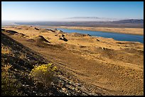 Columbia River and Rattlesnake Mountain, Hanford Reach National Monument. Washington ( color)