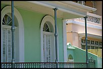 Detail of porch, Ponce. Puerto Rico