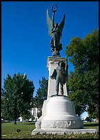 Monument to soldiers of the Confederacy. Little Rock, Arkansas, USA (color)