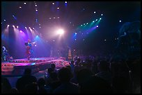 Circus show, Walt Disney World. Orlando, Florida, USA ( color)