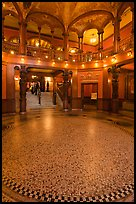 Foyer, Flagler College. St Augustine, Florida, USA ( color)