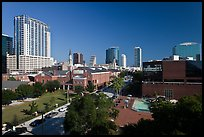 Downtown skyline. Orlando, Florida, USA ( color)