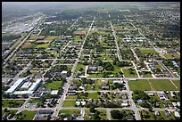 Aerial view of Homestead. Florida, USA ( color)