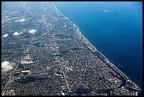 Aerial view of Fort Lauderdale. Florida, USA ( color)