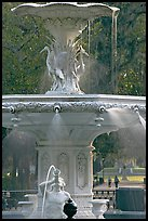 Forsyth Park Fountain. Savannah, Georgia, USA (color)