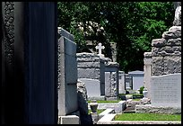 Tombs in Saint Louis cemetery. New Orleans, Louisiana, USA