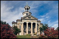 Historic courthouse museum. Vicksburg, Mississippi, USA (color)