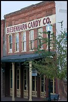 Biedenharn Candy building, where Coca-Cola was first bottled. Vicksburg, Mississippi, USA