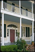 Facade of Griffith-McComas house. Natchez, Mississippi, USA ( color)
