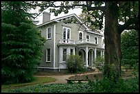 Childhood home of Woodrow Wilson. Columbia, South Carolina, USA (color)