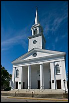 Baptist Church. Beaufort, South Carolina, USA ( color)
