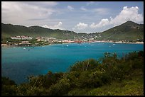 St Thomas harbor, Charlotte Amalie. Saint Thomas, US Virgin Islands ( color)