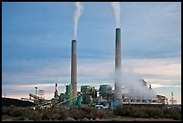 Coal fired power plant, Joseph City. Arizona, USA ( color)