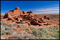 Wupatki Pueblo. Wupatki National Monument, Arizona, USA